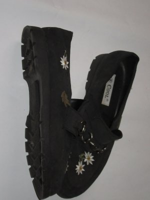 Vintage Mocasines negro