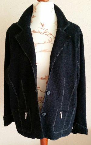 Veste en laine noir