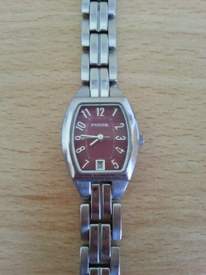 Fossil Watch silver-colored-purple