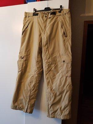 Tchibo / TCM Pantalone da neve marrone scuro-beige