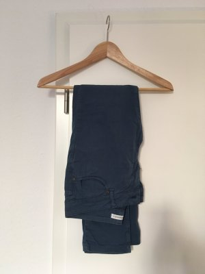 armedangels Slim Jeans steel blue cotton