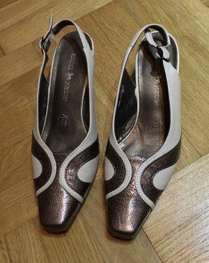 Dorndorf Sandale d'extérieur blanc cassé-brun foncé