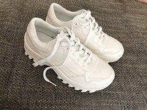 Bershka Heel Sneakers white