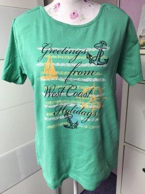 Bexleys Batik shirt turkoois-munt