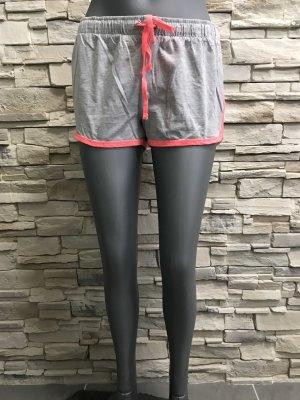 Atmosphere Hot pants grigio chiaro-rosso chiaro