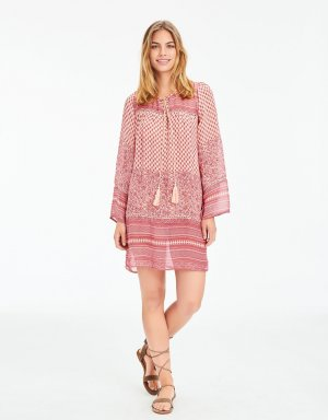 Hippie Dress pink-light pink viscose