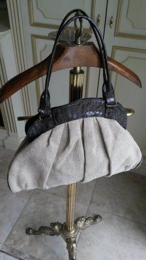 Schöne Sommerhandtasche mit leichten Goldschimmer!