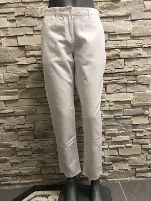 Gap Pantalón de lino blanco