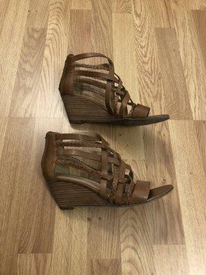 5th Avenue Sandalen met hoge hakken veelkleurig