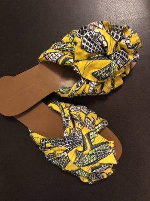 Zara Beach Sandals multicolored