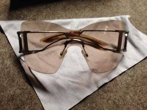 Christian Dior Butterfly Glasses silver-colored