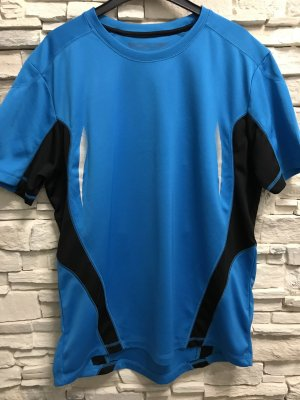 TCM Camisa deportiva negro-azul