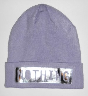 H&M Divided Beanie purple-mauve polyacrylic