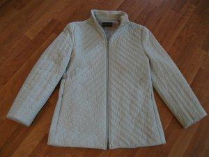 schöne Stepp Jacke von Sandra Pabst, Gr. 38, hell grau
