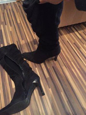 Schöne Stiefel Knie hoch