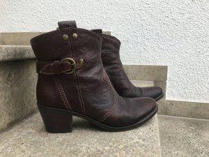 Görtz Shoes Bottines à enfiler brun-bronze