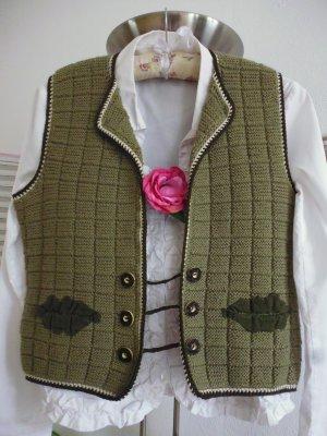 Traditional Vest multicolored mixture fibre