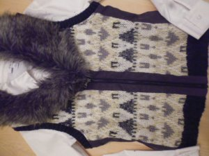 Promod Knitted Vest multicolored mixture fibre