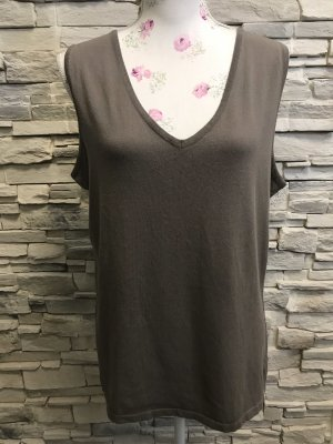 Faber Knitted Top grey brown