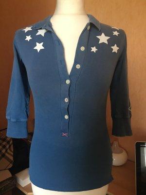 Shirt korenblauw