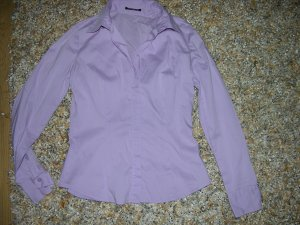 Comma Blouse à manches longues violet