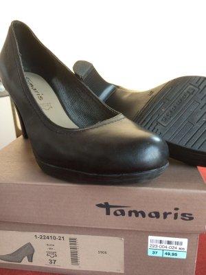 Tamaris Tacones negro Cuero