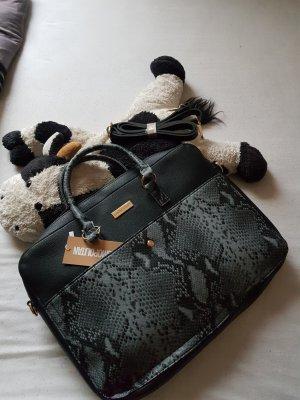 Crossbody bag black-grey