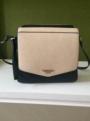 Schöne Tasche in besch/schwarz von der Marke Fiorelli