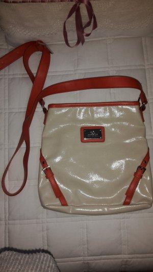 Carpisa Shoulder Bag oatmeal-orange
