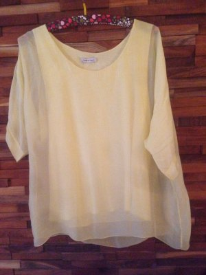 Made in Italy Silk Top primrose