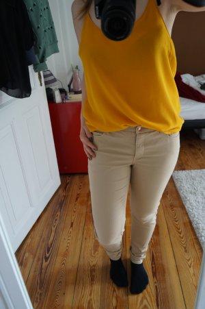 Schöne Top Bluse gelb Gr. L Vero Moda