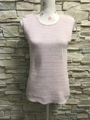 Haut tricotés rose clair