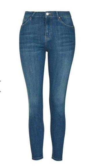 schöne Topshop Jeans Jamie mittelblau