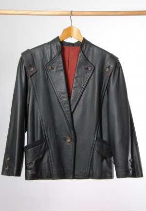 Angermaier Traditional Jacket neon red-black brown