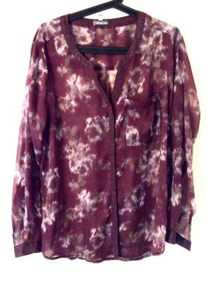 Schöne transparente Bluse - modernes Muster - Top Zustand - Street One - Gr. 42