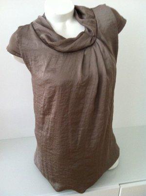 Angela Davis Robe tunique bronze