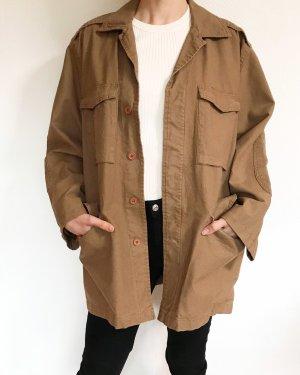 Vintage Oversized Jacket camel-light brown