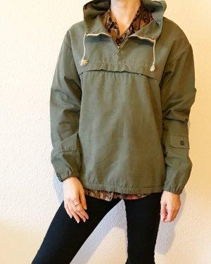Vintage Hoody green grey-khaki