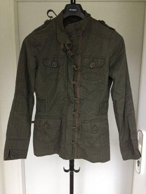 Orsay Veste militaire gris vert
