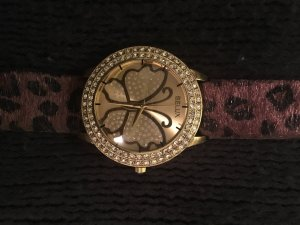 Schöne Uhr mit Animalprint