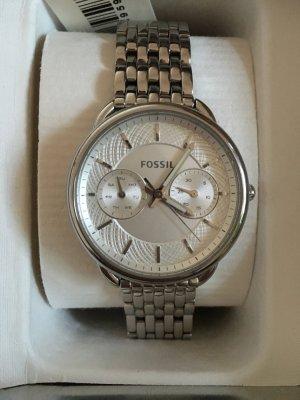 """Schöne Uhr von Fossil """"Tailor"""" mit Metallarmband in Silber"""