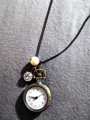 Schöne Uhren Kette Gold Bijou Brigitte