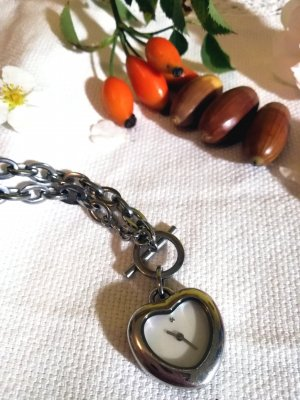 Schöne Uhren Kette Silber