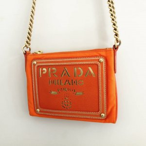 Prada Crossbody bag gold-colored-orange