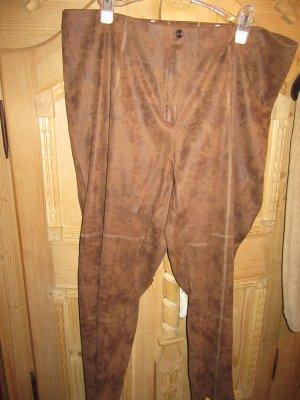 schöne Vintage Hose in Lederoptik