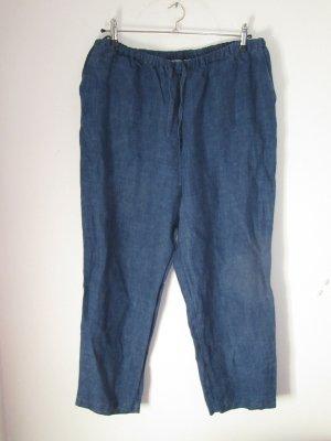 Vintage Pantalon pattes d'éléphant bleu