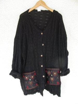 Vintage Knitted Vest black