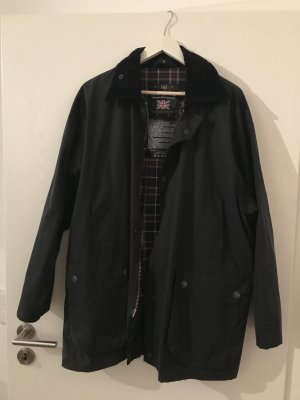 Waxed Jacket dark blue