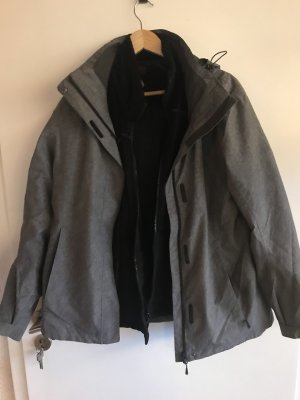 McKinley Double Jacket grey-black
