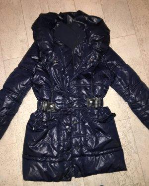 Schöne warme Jacke in Marineblau